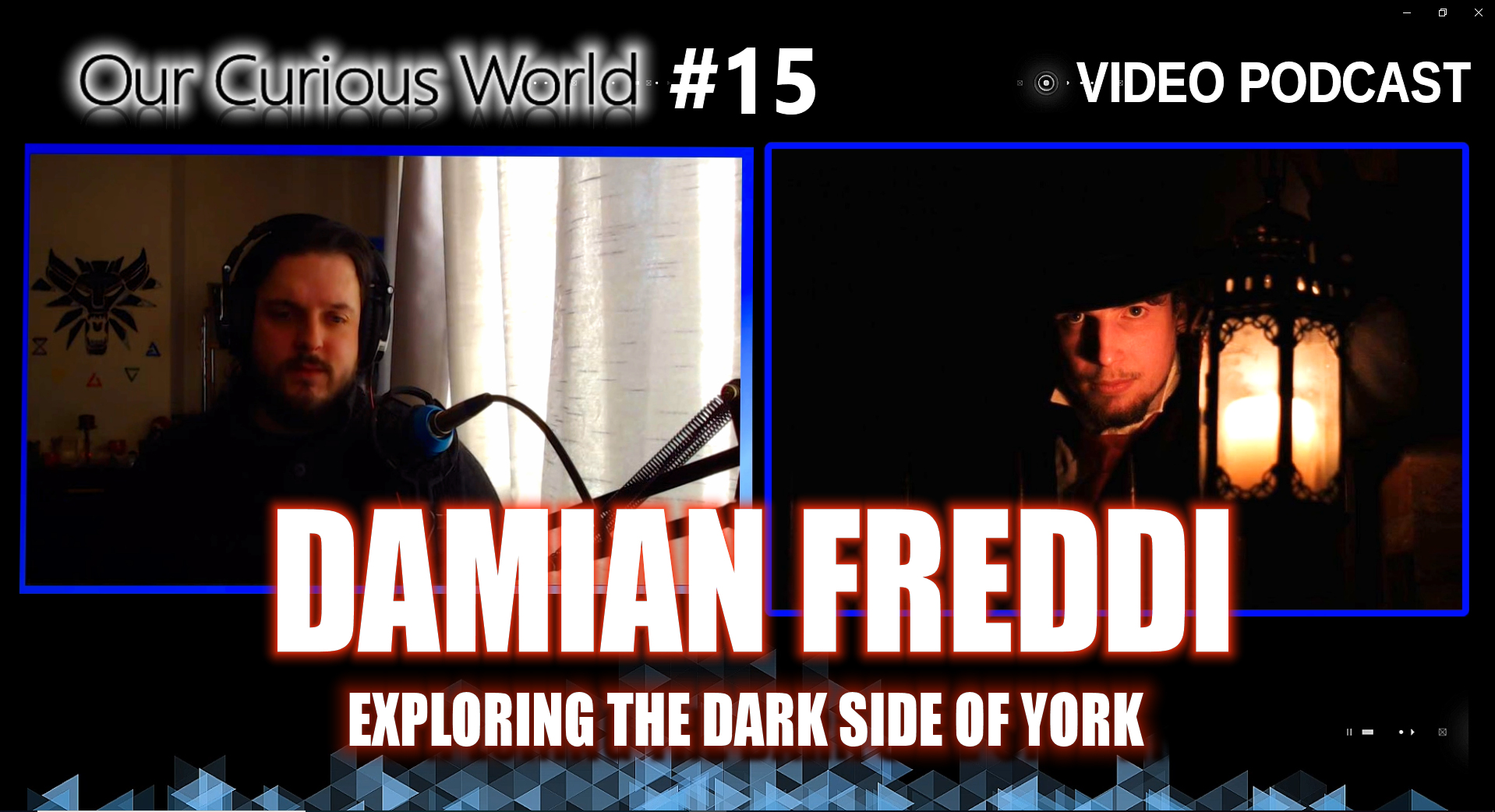 Damian Freddi   Our Curious World with Kristian Lander #15