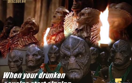 When your drunk cousins
